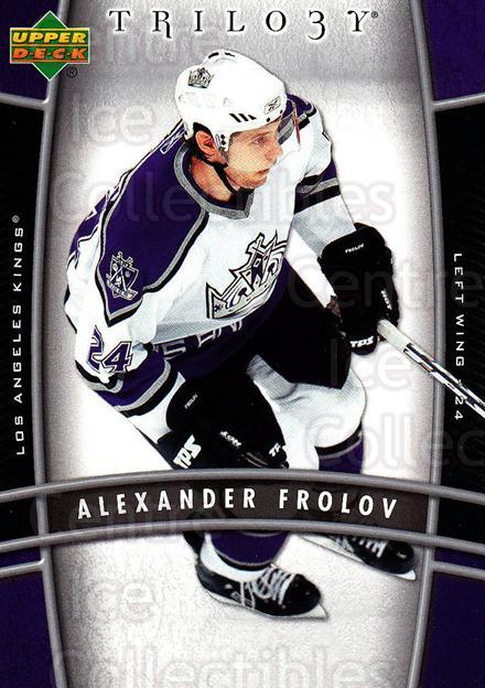 2006-07 UD Trilogy #47 Alexander Frolov<br/>3 In Stock - $1.00 each - <a href=https://centericecollectibles.foxycart.com/cart?name=2006-07%20UD%20Trilogy%20%2347%20Alexander%20Frolo...&quantity_max=3&price=$1.00&code=466973 class=foxycart> Buy it now! </a>