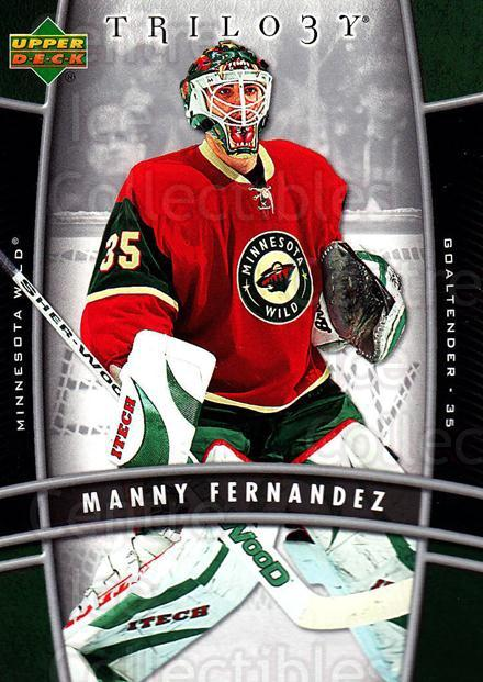 2006-07 UD Trilogy #50 Manny Fernandez<br/>3 In Stock - $1.00 each - <a href=https://centericecollectibles.foxycart.com/cart?name=2006-07%20UD%20Trilogy%20%2350%20Manny%20Fernandez...&quantity_max=3&price=$1.00&code=466976 class=foxycart> Buy it now! </a>