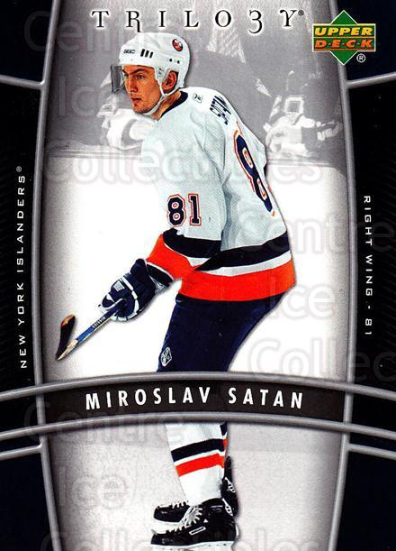 2006-07 UD Trilogy #61 Miroslav Satan<br/>3 In Stock - $1.00 each - <a href=https://centericecollectibles.foxycart.com/cart?name=2006-07%20UD%20Trilogy%20%2361%20Miroslav%20Satan...&quantity_max=3&price=$1.00&code=466987 class=foxycart> Buy it now! </a>