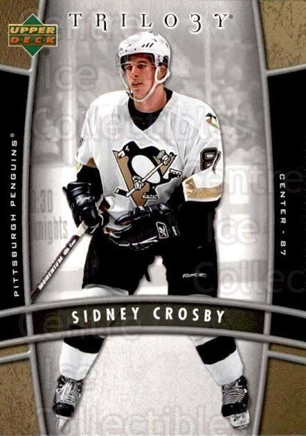 2006-07 UD Trilogy #79 Sidney Crosby<br/>1 In Stock - $5.00 each - <a href=https://centericecollectibles.foxycart.com/cart?name=2006-07%20UD%20Trilogy%20%2379%20Sidney%20Crosby...&quantity_max=1&price=$5.00&code=467005 class=foxycart> Buy it now! </a>