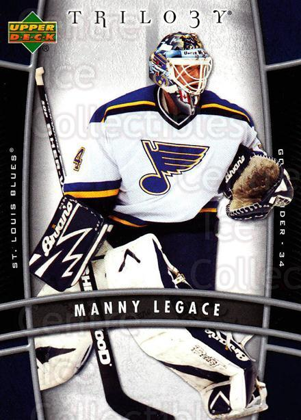 2006-07 UD Trilogy #87 Manny Legace<br/>1 In Stock - $1.00 each - <a href=https://centericecollectibles.foxycart.com/cart?name=2006-07%20UD%20Trilogy%20%2387%20Manny%20Legace...&quantity_max=1&price=$1.00&code=467013 class=foxycart> Buy it now! </a>