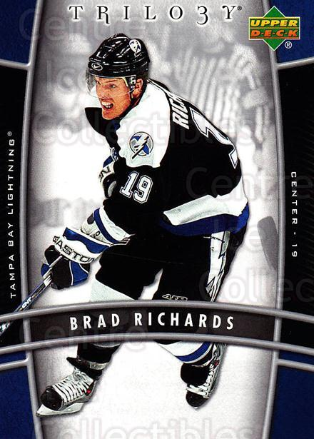 2006-07 UD Trilogy #88 Brad Richards<br/>3 In Stock - $1.00 each - <a href=https://centericecollectibles.foxycart.com/cart?name=2006-07%20UD%20Trilogy%20%2388%20Brad%20Richards...&quantity_max=3&price=$1.00&code=467014 class=foxycart> Buy it now! </a>