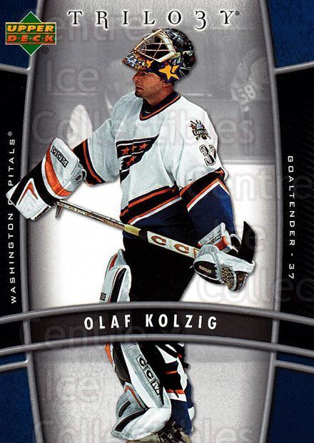 2006-07 UD Trilogy #100 Olaf Kolzig<br/>3 In Stock - $1.00 each - <a href=https://centericecollectibles.foxycart.com/cart?name=2006-07%20UD%20Trilogy%20%23100%20Olaf%20Kolzig...&quantity_max=3&price=$1.00&code=467026 class=foxycart> Buy it now! </a>