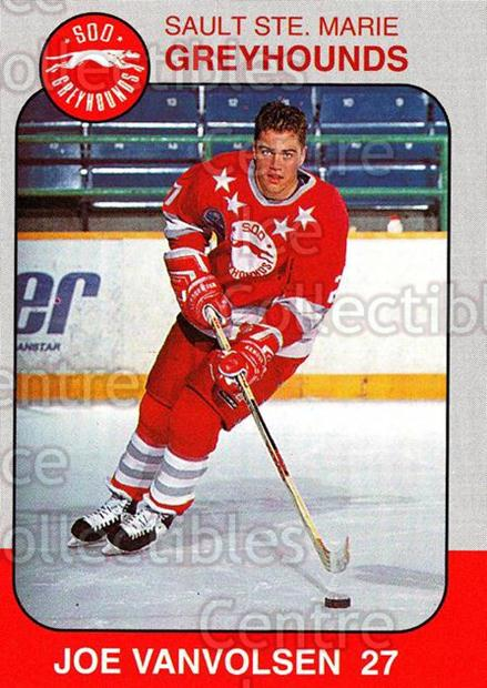 1993-94 Sault Ste. Marie Greyhounds Memorial Cup #26 Joe VanVolsen<br/>8 In Stock - $3.00 each - <a href=https://centericecollectibles.foxycart.com/cart?name=1993-94%20Sault%20Ste.%20Marie%20Greyhounds%20Memorial%20Cup%20%2326%20Joe%20VanVolsen...&quantity_max=8&price=$3.00&code=4676 class=foxycart> Buy it now! </a>