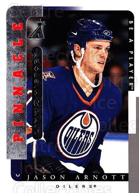 1996-97 Be A Player Link to History #05B Jason Arnott<br/>3 In Stock - $1.00 each - <a href=https://centericecollectibles.foxycart.com/cart?name=1996-97%20Be%20A%20Player%20Link%20to%20History%20%2305B%20Jason%20Arnott...&quantity_max=3&price=$1.00&code=46780 class=foxycart> Buy it now! </a>