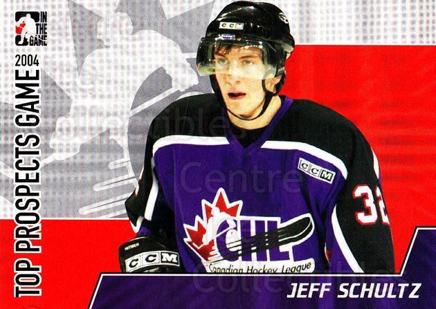 2004-05 ITG Heroes and Prospects Top Prospects #6 Jeff Schultz<br/>3 In Stock - $3.00 each - <a href=https://centericecollectibles.foxycart.com/cart?name=2004-05%20ITG%20Heroes%20and%20Prospects%20Top%20Prospects%20%236%20Jeff%20Schultz...&quantity_max=3&price=$3.00&code=468030 class=foxycart> Buy it now! </a>
