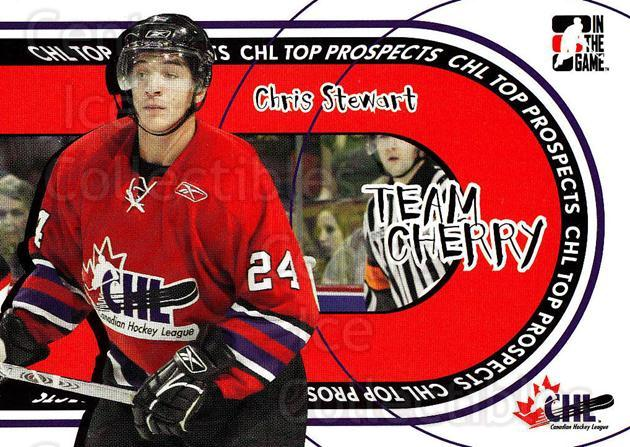 2005-06 ITG Heroes and Prospects Team Cherry #3 Chris Stewart<br/>3 In Stock - $3.00 each - <a href=https://centericecollectibles.foxycart.com/cart?name=2005-06%20ITG%20Heroes%20and%20Prospects%20Team%20Cherry%20%233%20Chris%20Stewart...&quantity_max=3&price=$3.00&code=468047 class=foxycart> Buy it now! </a>