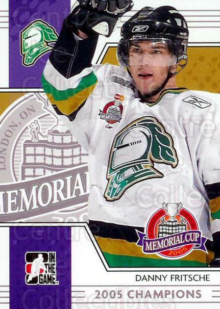 2005-06 ITG Heroes and Prospects Memorial Cup Champions #5 Dan Fritsche<br/>4 In Stock - $3.00 each - <a href=https://centericecollectibles.foxycart.com/cart?name=2005-06%20ITG%20Heroes%20and%20Prospects%20Memorial%20Cup%20Champions%20%235%20Dan%20Fritsche...&quantity_max=4&price=$3.00&code=468069 class=foxycart> Buy it now! </a>
