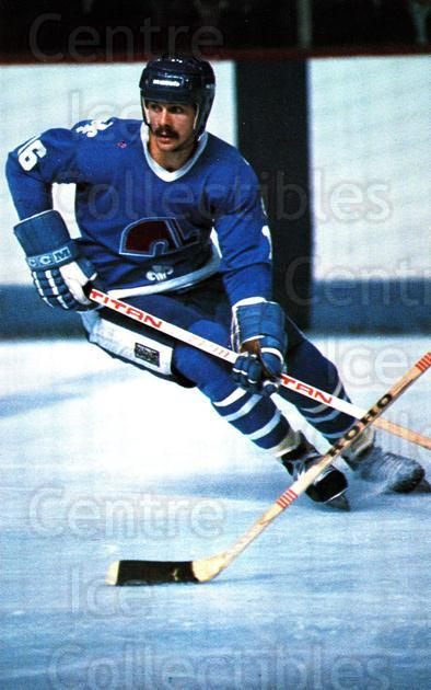 1982-83 Quebec Nordiques Postcards #8 Michel Goulet<br/>2 In Stock - $3.00 each - <a href=https://centericecollectibles.foxycart.com/cart?name=1982-83%20Quebec%20Nordiques%20Postcards%20%238%20Michel%20Goulet...&quantity_max=2&price=$3.00&code=468114 class=foxycart> Buy it now! </a>