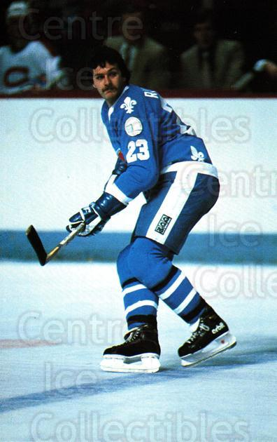 1982-83 Quebec Nordiques Postcards #17 Jacques Richard<br/>1 In Stock - $3.00 each - <a href=https://centericecollectibles.foxycart.com/cart?name=1982-83%20Quebec%20Nordiques%20Postcards%20%2317%20Jacques%20Richard...&quantity_max=1&price=$3.00&code=468123 class=foxycart> Buy it now! </a>