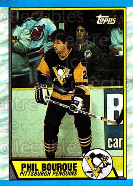1989-90 Topps #19 Phil Bourque<br/>3 In Stock - $1.00 each - <a href=https://centericecollectibles.foxycart.com/cart?name=1989-90%20Topps%20%2319%20Phil%20Bourque...&quantity_max=3&price=$1.00&code=468478 class=foxycart> Buy it now! </a>