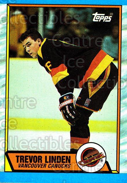 1989-90 Topps #89 Trevor Linden<br/>2 In Stock - $2.00 each - <a href=https://centericecollectibles.foxycart.com/cart?name=1989-90%20Topps%20%2389%20Trevor%20Linden...&quantity_max=2&price=$2.00&code=468484 class=foxycart> Buy it now! </a>
