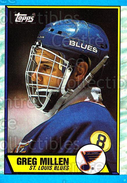 1989-90 Topps #137 Greg Millen<br/>3 In Stock - $1.00 each - <a href=https://centericecollectibles.foxycart.com/cart?name=1989-90%20Topps%20%23137%20Greg%20Millen...&quantity_max=3&price=$1.00&code=468486 class=foxycart> Buy it now! </a>