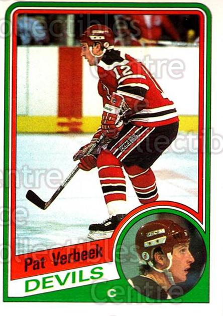 1984-85 O-Pee-Chee #121 Pat Verbeek<br/>1 In Stock - $5.00 each - <a href=https://centericecollectibles.foxycart.com/cart?name=1984-85%20O-Pee-Chee%20%23121%20Pat%20Verbeek...&quantity_max=1&price=$5.00&code=468511 class=foxycart> Buy it now! </a>