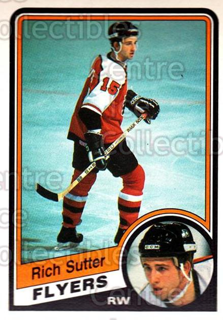 1984-85 O-Pee-Chee #169 Rich Sutter<br/>5 In Stock - $2.00 each - <a href=https://centericecollectibles.foxycart.com/cart?name=1984-85%20O-Pee-Chee%20%23169%20Rich%20Sutter...&quantity_max=5&price=$2.00&code=468515 class=foxycart> Buy it now! </a>