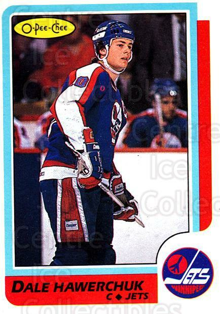 1986-87 O-Pee-Chee #74 Dale Hawerchuk<br/>1 In Stock - $1.00 each - <a href=https://centericecollectibles.foxycart.com/cart?name=1986-87%20O-Pee-Chee%20%2374%20Dale%20Hawerchuk...&quantity_max=1&price=$1.00&code=468546 class=foxycart> Buy it now! </a>