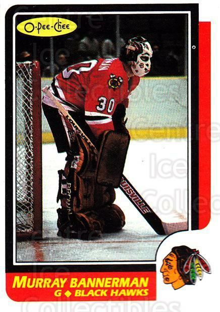 1986-87 O-Pee-Chee #180 Murray Bannerman<br/>2 In Stock - $1.00 each - <a href=https://centericecollectibles.foxycart.com/cart?name=1986-87%20O-Pee-Chee%20%23180%20Murray%20Bannerma...&quantity_max=2&price=$1.00&code=468563 class=foxycart> Buy it now! </a>