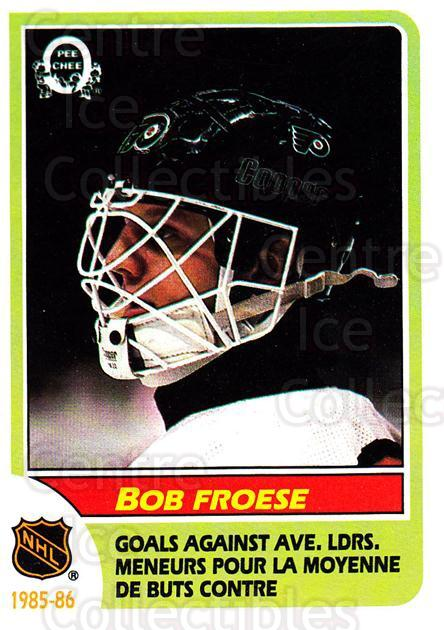 1986-87 O-Pee-Chee #263 Bob Froese<br/>1 In Stock - $1.00 each - <a href=https://centericecollectibles.foxycart.com/cart?name=1986-87%20O-Pee-Chee%20%23263%20Bob%20Froese...&quantity_max=1&price=$1.00&code=468575 class=foxycart> Buy it now! </a>
