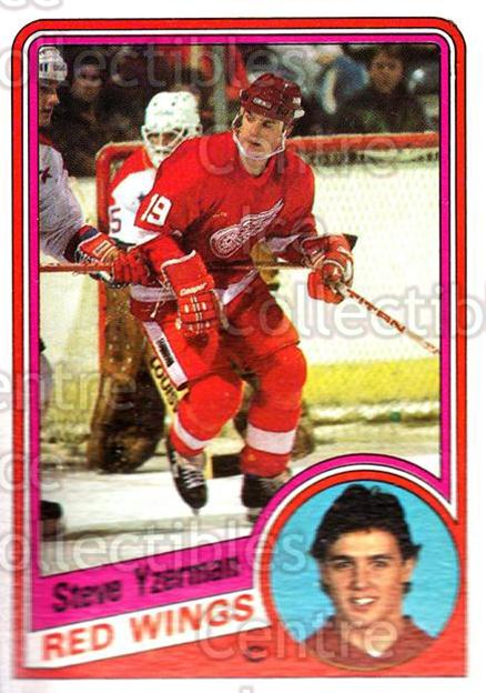 1984-85 Topps #49 Steve Yzerman<br/>1 In Stock - $20.00 each - <a href=https://centericecollectibles.foxycart.com/cart?name=1984-85%20Topps%20%2349%20Steve%20Yzerman...&price=$20.00&code=468577 class=foxycart> Buy it now! </a>