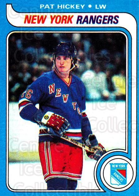 1979-80 Topps #86 Pat Hickey<br/>5 In Stock - $1.00 each - <a href=https://centericecollectibles.foxycart.com/cart?name=1979-80%20Topps%20%2386%20Pat%20Hickey...&quantity_max=5&price=$1.00&code=468601 class=foxycart> Buy it now! </a>