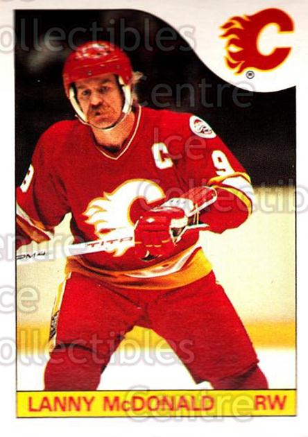 1985-86 O-Pee-Chee #1 Lanny McDonald<br/>1 In Stock - $2.00 each - <a href=https://centericecollectibles.foxycart.com/cart?name=1985-86%20O-Pee-Chee%20%231%20Lanny%20McDonald...&quantity_max=1&price=$2.00&code=468610 class=foxycart> Buy it now! </a>