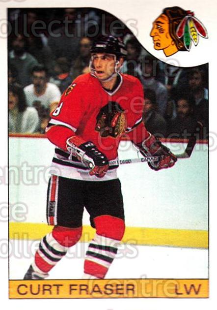 1985-86 O-Pee-Chee #3 Curt Fraser<br/>3 In Stock - $1.00 each - <a href=https://centericecollectibles.foxycart.com/cart?name=1985-86%20O-Pee-Chee%20%233%20Curt%20Fraser...&quantity_max=3&price=$1.00&code=468612 class=foxycart> Buy it now! </a>