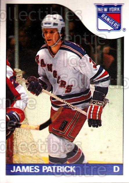 1985-86 O-Pee-Chee #15 James Patrick<br/>5 In Stock - $1.00 each - <a href=https://centericecollectibles.foxycart.com/cart?name=1985-86%20O-Pee-Chee%20%2315%20James%20Patrick...&quantity_max=5&price=$1.00&code=468624 class=foxycart> Buy it now! </a>