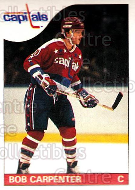 1985-86 O-Pee-Chee #26 Bob Carpenter<br/>1 In Stock - $1.00 each - <a href=https://centericecollectibles.foxycart.com/cart?name=1985-86%20O-Pee-Chee%20%2326%20Bob%20Carpenter...&quantity_max=1&price=$1.00&code=468635 class=foxycart> Buy it now! </a>