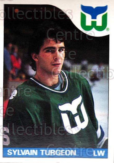 1985-86 O-Pee-Chee #43 Sylvain Turgeon<br/>4 In Stock - $1.00 each - <a href=https://centericecollectibles.foxycart.com/cart?name=1985-86%20O-Pee-Chee%20%2343%20Sylvain%20Turgeon...&quantity_max=4&price=$1.00&code=468652 class=foxycart> Buy it now! </a>