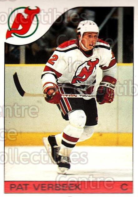 1985-86 O-Pee-Chee #56 Pat Verbeek<br/>2 In Stock - $1.00 each - <a href=https://centericecollectibles.foxycart.com/cart?name=1985-86%20O-Pee-Chee%20%2356%20Pat%20Verbeek...&quantity_max=2&price=$1.00&code=468665 class=foxycart> Buy it now! </a>