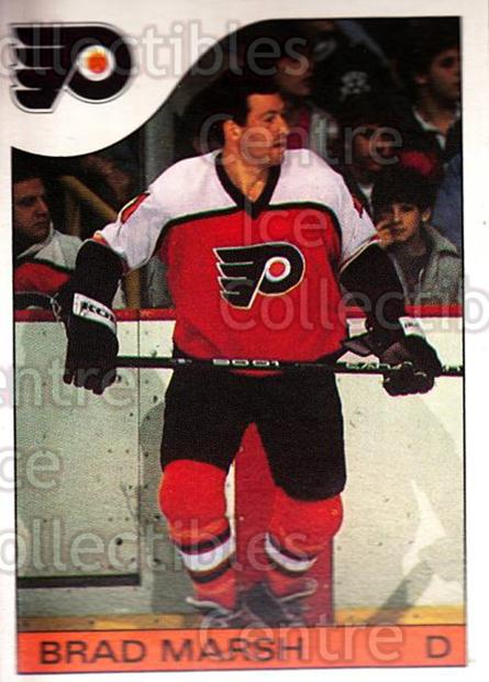 1985-86 O-Pee-Chee #72 Brad Marsh<br/>2 In Stock - $1.00 each - <a href=https://centericecollectibles.foxycart.com/cart?name=1985-86%20O-Pee-Chee%20%2372%20Brad%20Marsh...&quantity_max=2&price=$1.00&code=468681 class=foxycart> Buy it now! </a>