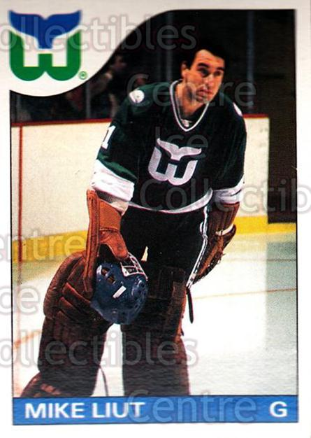 1985-86 O-Pee-Chee #88 Mike Liut<br/>4 In Stock - $1.00 each - <a href=https://centericecollectibles.foxycart.com/cart?name=1985-86%20O-Pee-Chee%20%2388%20Mike%20Liut...&quantity_max=4&price=$1.00&code=468697 class=foxycart> Buy it now! </a>