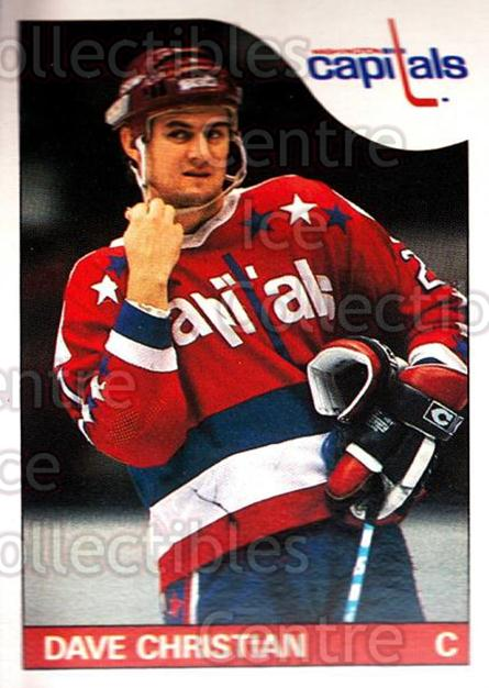 1985-86 O-Pee-Chee #99 Dave Christian<br/>4 In Stock - $1.00 each - <a href=https://centericecollectibles.foxycart.com/cart?name=1985-86%20O-Pee-Chee%20%2399%20Dave%20Christian...&quantity_max=4&price=$1.00&code=468708 class=foxycart> Buy it now! </a>