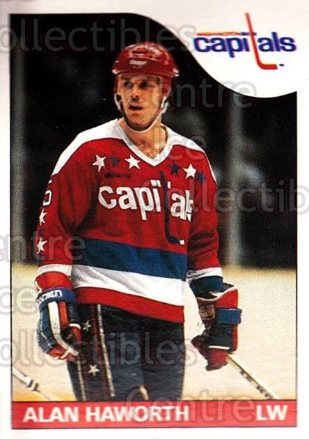 1985-86 O-Pee-Chee #117 Alan Haworth<br/>1 In Stock - $1.00 each - <a href=https://centericecollectibles.foxycart.com/cart?name=1985-86%20O-Pee-Chee%20%23117%20Alan%20Haworth...&quantity_max=1&price=$1.00&code=468726 class=foxycart> Buy it now! </a>