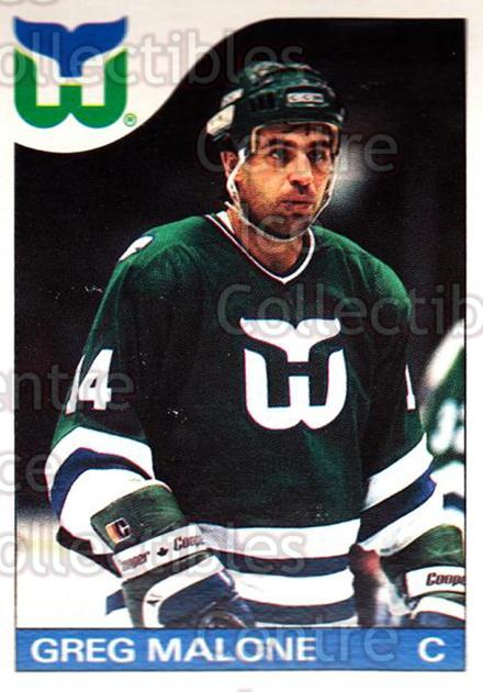 1985-86 O-Pee-Chee #118 Greg Malone<br/>2 In Stock - $1.00 each - <a href=https://centericecollectibles.foxycart.com/cart?name=1985-86%20O-Pee-Chee%20%23118%20Greg%20Malone...&quantity_max=2&price=$1.00&code=468727 class=foxycart> Buy it now! </a>