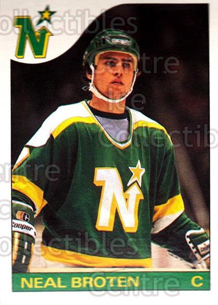 1985-86 O-Pee-Chee #124 Neal Broten<br/>3 In Stock - $1.00 each - <a href=https://centericecollectibles.foxycart.com/cart?name=1985-86%20O-Pee-Chee%20%23124%20Neal%20Broten...&quantity_max=3&price=$1.00&code=468733 class=foxycart> Buy it now! </a>