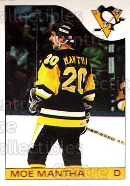 1985-86 O-Pee-Chee #125 Moe Mantha<br/>4 In Stock - $1.00 each - <a href=https://centericecollectibles.foxycart.com/cart?name=1985-86%20O-Pee-Chee%20%23125%20Moe%20Mantha...&quantity_max=4&price=$1.00&code=468734 class=foxycart> Buy it now! </a>