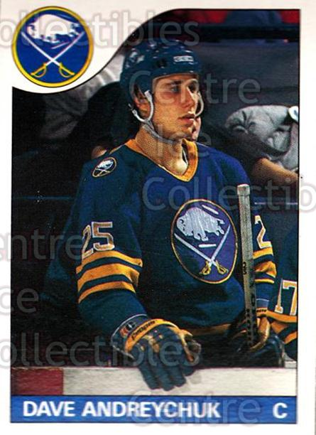 1985-86 O-Pee-Chee #143 Dave Andreychuk<br/>4 In Stock - $1.00 each - <a href=https://centericecollectibles.foxycart.com/cart?name=1985-86%20O-Pee-Chee%20%23143%20Dave%20Andreychuk...&quantity_max=4&price=$1.00&code=468752 class=foxycart> Buy it now! </a>