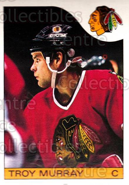 1985-86 O-Pee-Chee #146 Troy Murray<br/>4 In Stock - $1.00 each - <a href=https://centericecollectibles.foxycart.com/cart?name=1985-86%20O-Pee-Chee%20%23146%20Troy%20Murray...&quantity_max=4&price=$1.00&code=468755 class=foxycart> Buy it now! </a>