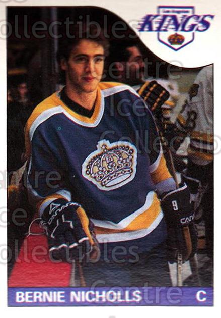 1985-86 O-Pee-Chee #148 Bernie Nicholls<br/>2 In Stock - $1.00 each - <a href=https://centericecollectibles.foxycart.com/cart?name=1985-86%20O-Pee-Chee%20%23148%20Bernie%20Nicholls...&quantity_max=2&price=$1.00&code=468757 class=foxycart> Buy it now! </a>