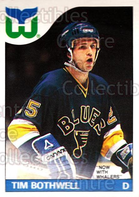 1985-86 O-Pee-Chee #161 Tim Bothwell<br/>1 In Stock - $1.00 each - <a href=https://centericecollectibles.foxycart.com/cart?name=1985-86%20O-Pee-Chee%20%23161%20Tim%20Bothwell...&quantity_max=1&price=$1.00&code=468770 class=foxycart> Buy it now! </a>