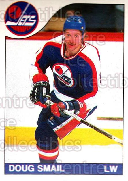 1985-86 O-Pee-Chee #175 Doug Smail<br/>5 In Stock - $1.00 each - <a href=https://centericecollectibles.foxycart.com/cart?name=1985-86%20O-Pee-Chee%20%23175%20Doug%20Smail...&quantity_max=5&price=$1.00&code=468784 class=foxycart> Buy it now! </a>