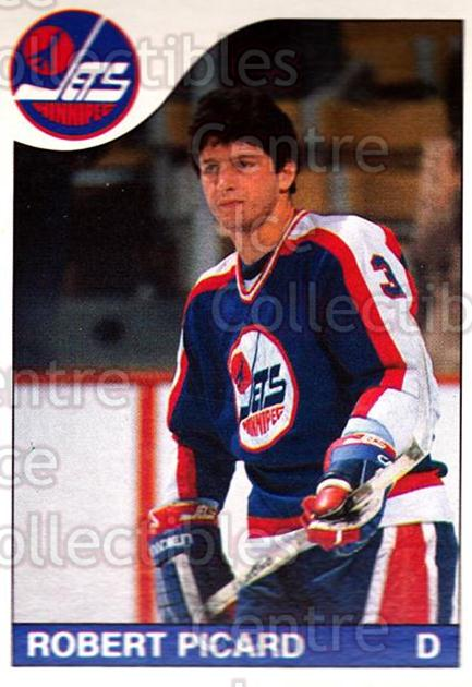 1985-86 O-Pee-Chee #215 Robert Picard<br/>4 In Stock - $1.00 each - <a href=https://centericecollectibles.foxycart.com/cart?name=1985-86%20O-Pee-Chee%20%23215%20Robert%20Picard...&quantity_max=4&price=$1.00&code=468824 class=foxycart> Buy it now! </a>