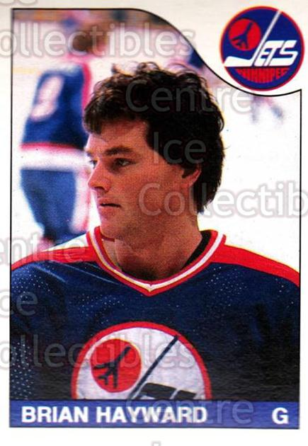 1985-86 O-Pee-Chee #226 Brian Hayward<br/>2 In Stock - $1.00 each - <a href=https://centericecollectibles.foxycart.com/cart?name=1985-86%20O-Pee-Chee%20%23226%20Brian%20Hayward...&quantity_max=2&price=$1.00&code=468835 class=foxycart> Buy it now! </a>