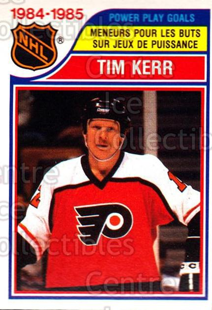 1985-86 O-Pee-Chee #260 Tim Kerr<br/>4 In Stock - $1.00 each - <a href=https://centericecollectibles.foxycart.com/cart?name=1985-86%20O-Pee-Chee%20%23260%20Tim%20Kerr...&quantity_max=4&price=$1.00&code=468869 class=foxycart> Buy it now! </a>