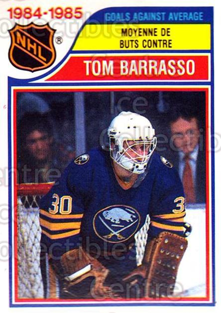 1985-86 O-Pee-Chee #263 Tom Barrasso<br/>3 In Stock - $1.00 each - <a href=https://centericecollectibles.foxycart.com/cart?name=1985-86%20O-Pee-Chee%20%23263%20Tom%20Barrasso...&quantity_max=3&price=$1.00&code=468872 class=foxycart> Buy it now! </a>
