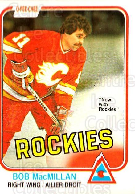 1981-82 O-Pee-Chee #46 Bob MacMillan<br/>5 In Stock - $1.00 each - <a href=https://centericecollectibles.foxycart.com/cart?name=1981-82%20O-Pee-Chee%20%2346%20Bob%20MacMillan...&quantity_max=5&price=$1.00&code=468919 class=foxycart> Buy it now! </a>