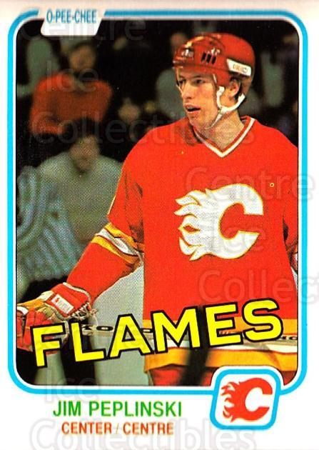 1981-82 O-Pee-Chee #49 Jim Peplinski<br/>4 In Stock - $3.00 each - <a href=https://centericecollectibles.foxycart.com/cart?name=1981-82%20O-Pee-Chee%20%2349%20Jim%20Peplinski...&quantity_max=4&price=$3.00&code=468922 class=foxycart> Buy it now! </a>