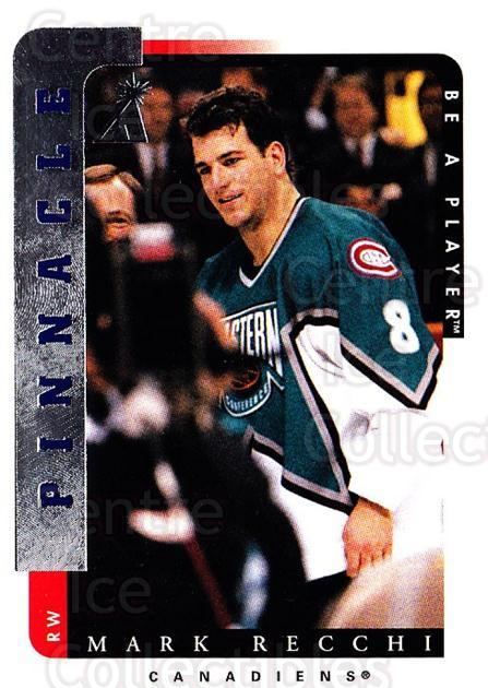 1996-97 Be A Player #20 Mark Recchi<br/>5 In Stock - $1.00 each - <a href=https://centericecollectibles.foxycart.com/cart?name=1996-97%20Be%20A%20Player%20%2320%20Mark%20Recchi...&quantity_max=5&price=$1.00&code=46899 class=foxycart> Buy it now! </a>