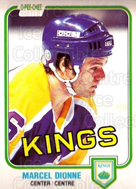 1981-82 O-Pee-Chee #141 Marcel Dionne<br/>3 In Stock - $2.00 each - <a href=https://centericecollectibles.foxycart.com/cart?name=1981-82%20O-Pee-Chee%20%23141%20Marcel%20Dionne...&quantity_max=3&price=$2.00&code=469014 class=foxycart> Buy it now! </a>
